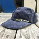 KNOW WAVE tea club corduroy adjuster cap
