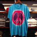 """PEACE MARK"" tye dye tee"