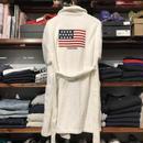 POLO RALPH LAUREN flag cotton gown (M)