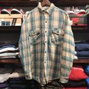 PINE TRAIL cotton check shirt (L)