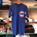 "Majestic Chicago Cubs bear  ""bourgeois dental center 9"" Henley neck tee (S)"