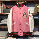 【DeadStock】King of diggin Wappen stadium jacket(L)