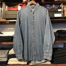 POLO RALPH LAUREN small pony denim shirt (XL)