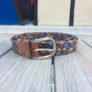 leather belt (made in Italy)