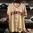 """michell&ness  COOPERSTOWN """"San Francisco Giants 24"""" baseball shirt(XL)"""