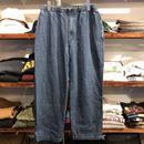 TOWNCRAFT  denim easy pants
