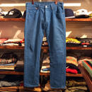 "Levi's ""501"" color denim (32/Made in USA)"