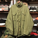 Military hooded field jacket
