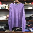 POLO RALPH LAUREN silk knit