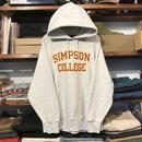 Champion ''SIMPSON COLLEGE'' reverse weave hoodie (M)