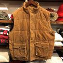 POLO JEANS corduroy vest(L)