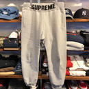 Supreme Rib Logo Sweatpants(M)