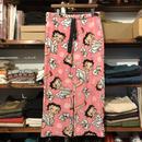 Betty Boop boa easy pants (M)