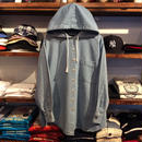 NYLINE denim hoodie shirt(M)