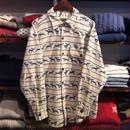 Coldwater Creek reindeer flannel shirt(M)