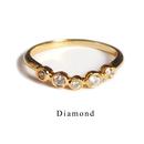 10K アニバーサリーリング・ダイヤモンド