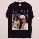 ROYAL TEES LONDON Aaliyah Tee-BLACK