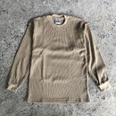 PRO CLUB THERMAL LONGSLEEVE TEE - KHAKI