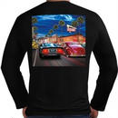 IN-N-OUT HOLLYWOOD CRUISING LONG SLEEVE TEE- BLACK