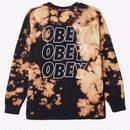 OBEY OBEY Jumble Lo-Fi Tie Dye LS Tee-Bleach spill