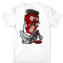 CHOCOLATE SKATEBOARDS GET LOOSE TEE-WHITE