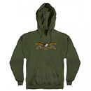 Anti Hero Eagle Pullover Hoody  -  Olive