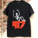 Call Me 917 Skull Tee - Black