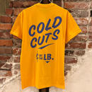 UNCLE PAULIE'S  COLD CUTS TEE-YELLOW