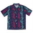 LIFE'S A BEACH Electro Snake Collar Shirt - MULTI