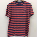 POLO RALPH LAUREN 30/1's  JERSEY-WEST RED #9003