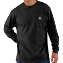 CARHARTT  LONG SLEEVE WORKWEAR POCKET T-SHIRT-Black