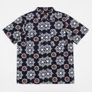 LEVI'S SKATE BOARDING Short Sleeve Button Down Shirt - Waterthrush / Navy