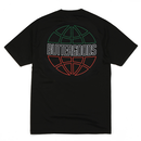 BUTTER GOODS ITALIA OUTLINE TEE, BLACK