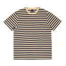 ONLY NY Nautical Stripe Pocket T-Shirt - Old Gold