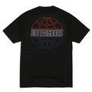 BUTTER GOODS COMMONWEALTH OUTLINE TEE BLACK