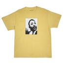 FUCKING AWESOME MLK Tee-Yellow