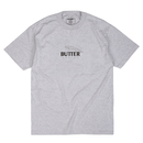 BUTTER GOODS RACING TEE, HEATHER GREY