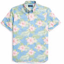 POLO RALPH LAUREN SHORT SLEEVE OXFORD-PASTAL FLORAL