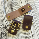 Leather Belt Loop - Short Type -