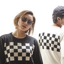 Checker Sweater (RUTSUBO×I&ME)
