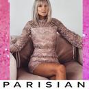 【取り寄せ】【Parisian】総レース長袖ボディコンミニワンピース/ピンク