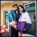 【GMANCL】2color 袖ロゴフード付きウィンドブレーカージャケット