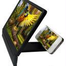 スマホ Iphoneに画面拡大鏡ブラッケット 折り畳み収納できる!
