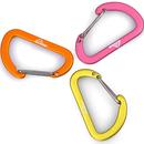 登山グッズ ロゴ入りD型環カラビナ