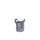 ルーツポーチ Root Pouch #1 Grey 持ち手あり