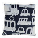 TIKAU_Brum Brum Cushion Cover Black