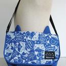 ねこぶち猫耳つきショルダーバック(ブルー) 51855001BL
