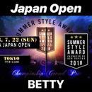 JAPAN OPENエントリー「ベティ」