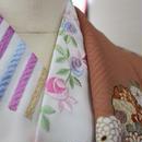 振袖用刺繍半衿 洗える素材