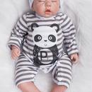 リボーンドール リアルな新生児 熟睡中の男の子 高級 海外 赤ちゃん人形 ベビー人形 ベビードール 抱き人形 衣装付き 綿&シリコン50cm